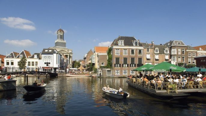 De grachten van Leiden