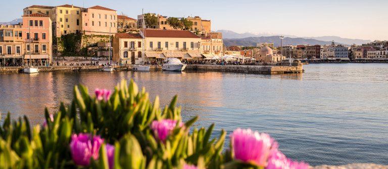 Haven van Chania in Kreta