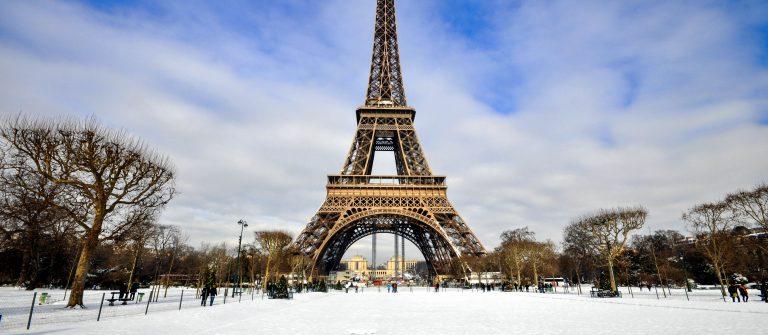 Parijs winter