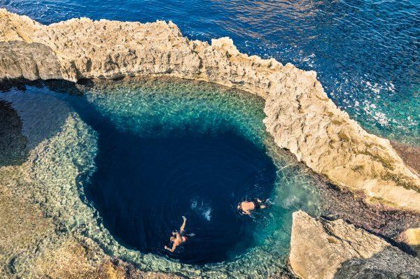Zwemmen in Malta
