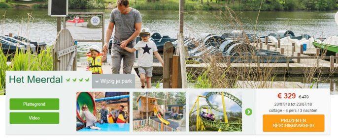 screenshot center parcs deal