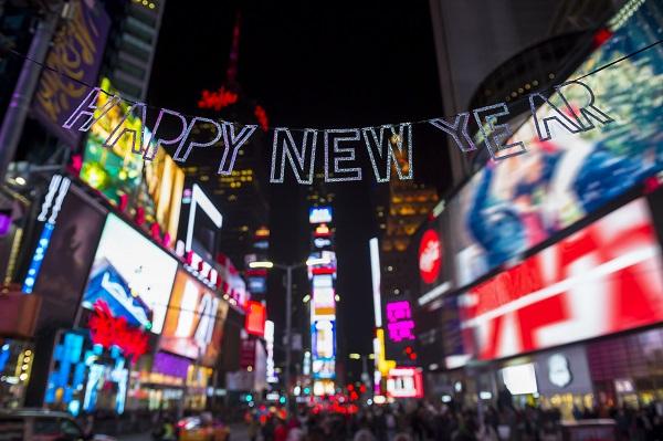Oud en nieuw in New York