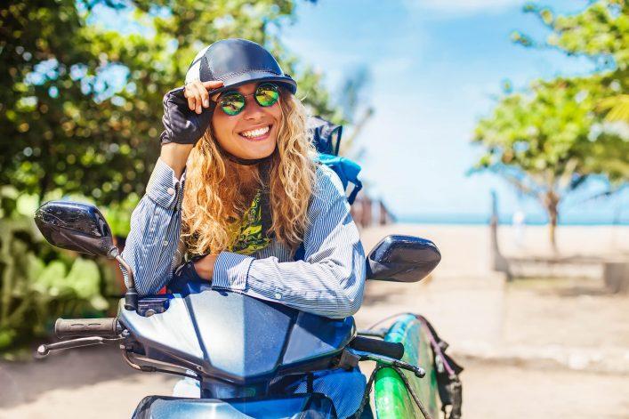 scooter op Bali