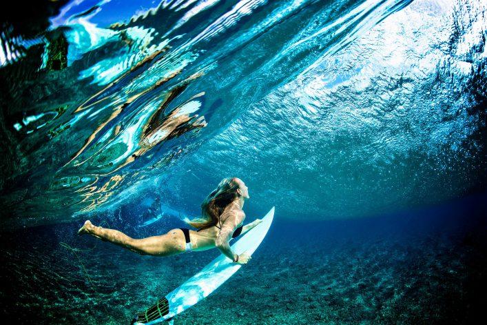 waar surfen op Bali