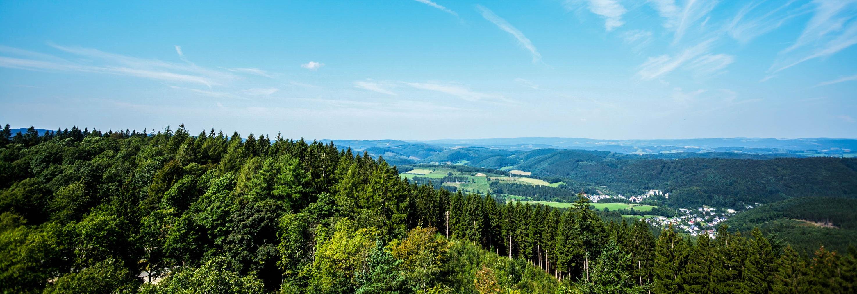 Heuvels in het Sauerland