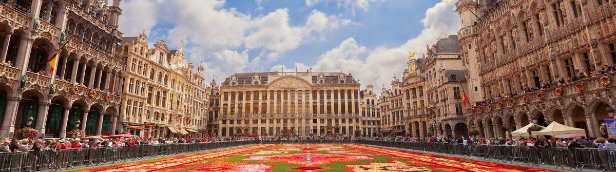 Bloementapijt Brussel