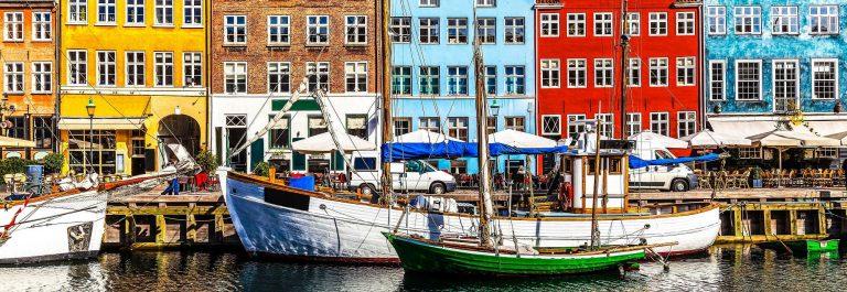 Kopenhagen in Denemarken