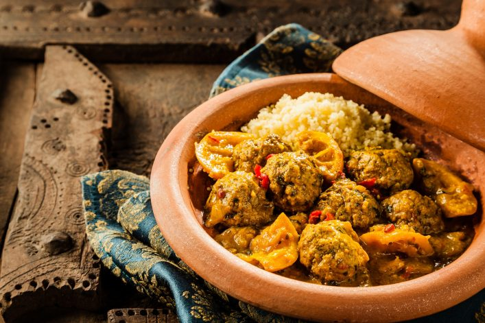 Eten in Marrakech