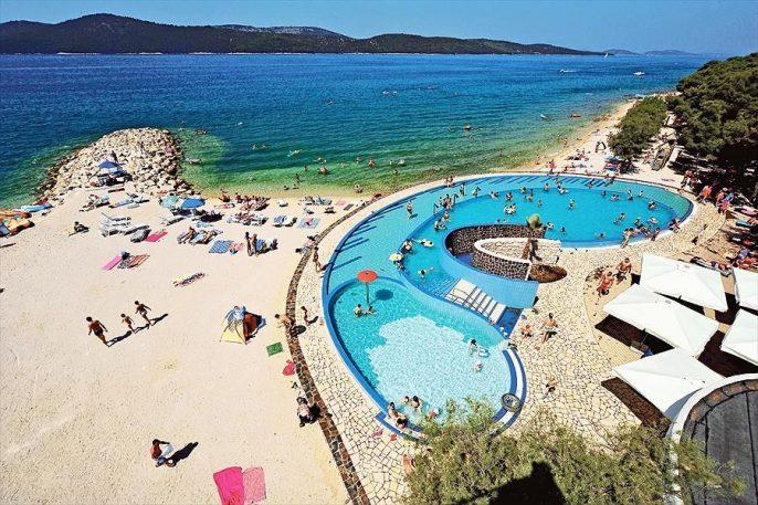 zwembad op toplocatie