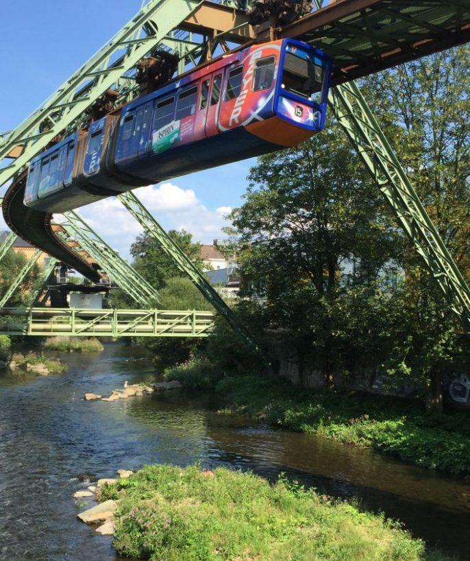 De Monorail in Wuppertal