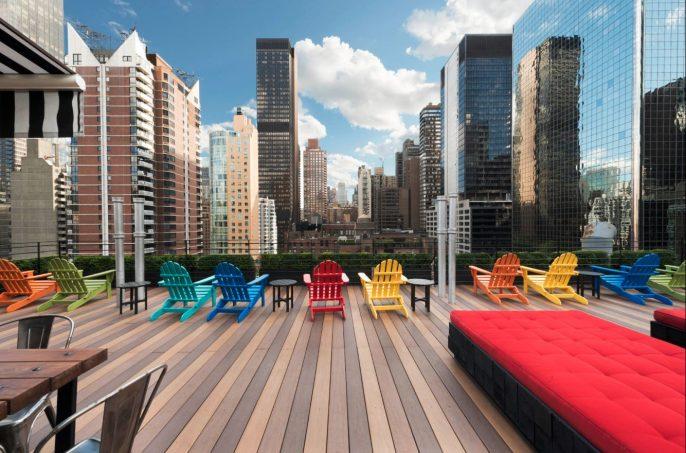 Hotel Pod 51 in New York