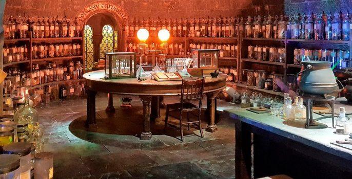 De Harry Potter studio