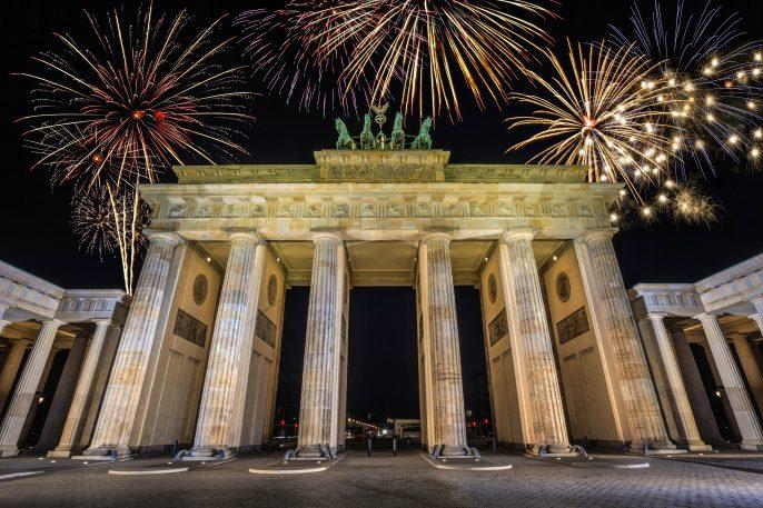 Oud en Nieuw in Berlijn