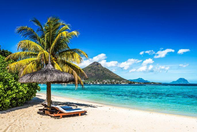 strand op mauritius