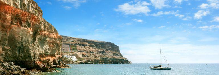 De kust van Gran Canaria