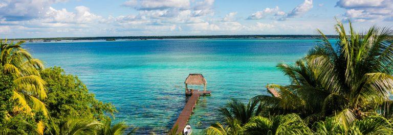 Bacalar Lake at caribbean. Quintana Roo Mexico, Traveling Rivier