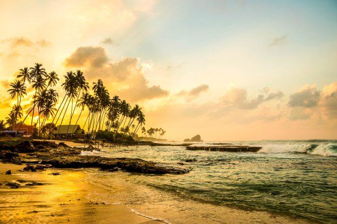Ocean beach at the morning Sri Lanka iStock_000090299519_Large-2