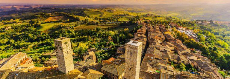 San Gimignano, Italy.