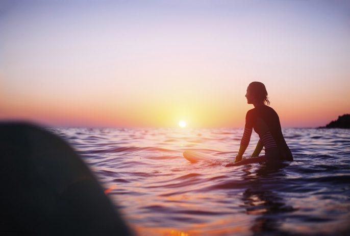 Surfer Girl iStock_000041899892_Large
