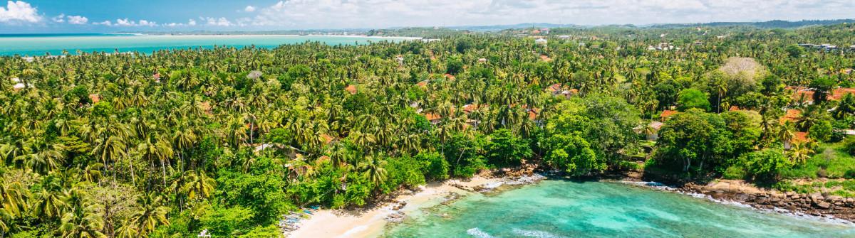 Blue lagoon View from the Dondra Lighthouse, Sri Lanka iStock_000068521327_Large-2