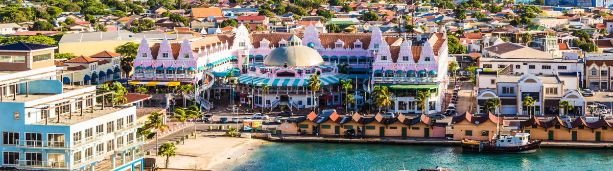 Colorful Oranjestad Aruba