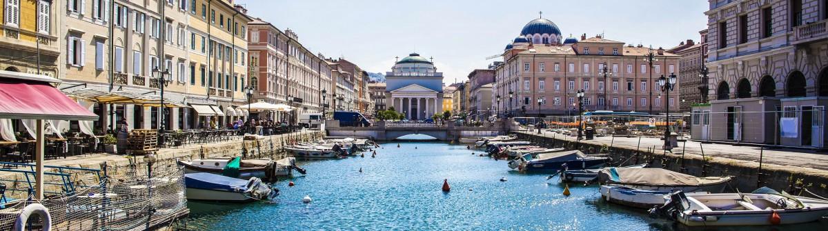 Canal Grande in Trieste, Italy shutterstock_313891382-2_2000