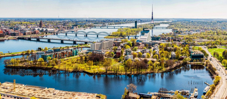 Panorama of Riga city. Latvia shutterstock_190752383-2