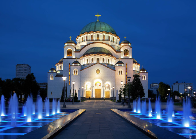 Cathedral of Saint Sava in Belgrade