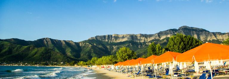Golden beach, Thassos Island, Greece iStock_000038747838_Large-2