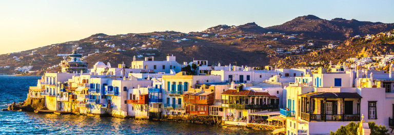 Little Venice of Mykonos Greece iStock_000044366116_Large-2