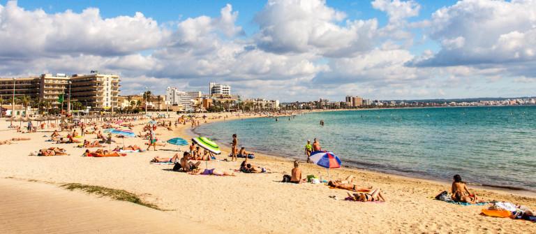 Platja de Palma Beach