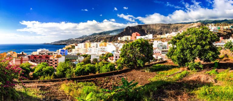 Santa Cruz de La Palma desde la Cuesta de La Encarnación