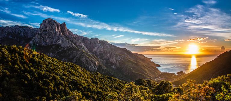 Sunset Korsika