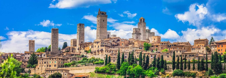 Beautiful San Gimignano,Tuscany,Italy.