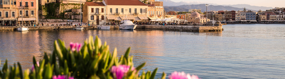 Chania Harbour, Crete
