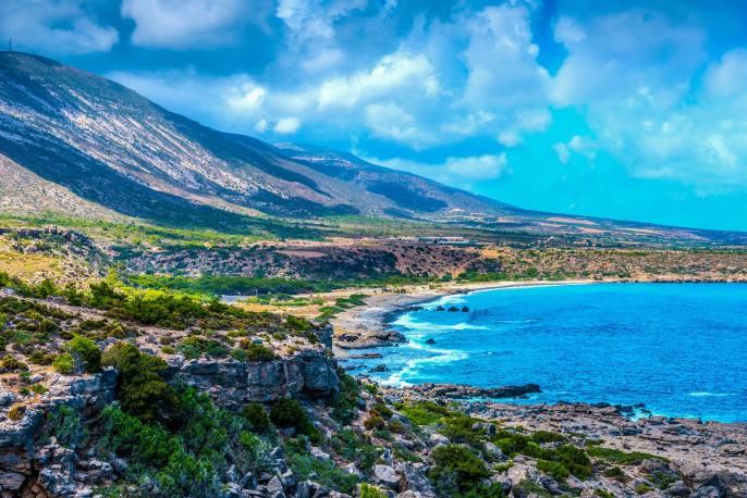 Mediterranean Sea And Rocky Coast Of Crete, Greece shutterstock_269175824-2 – Copy