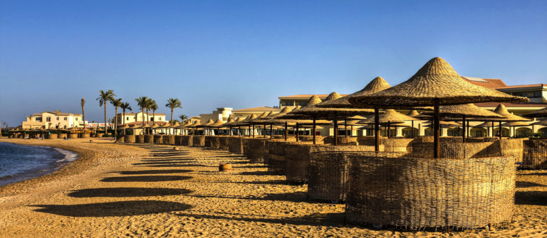 All-inclusive hotel in Egypte
