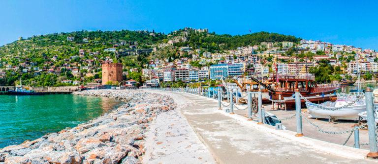 Cityscape of Alanya/Turkey