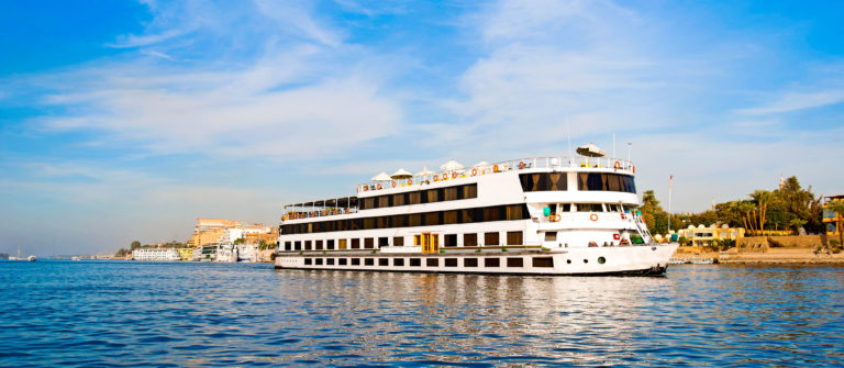 Large river boat on the Nile