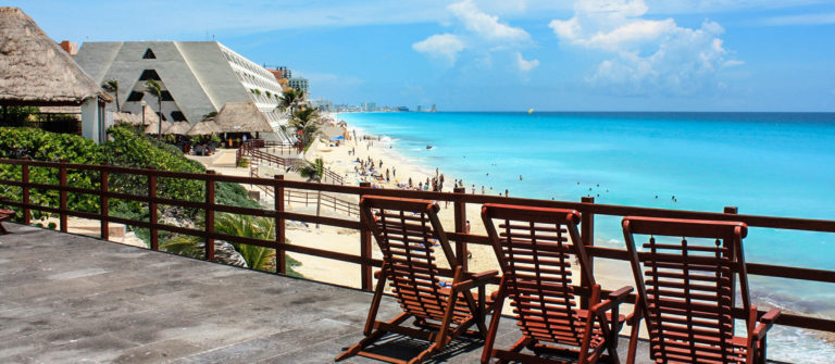 Overlooking Cancun