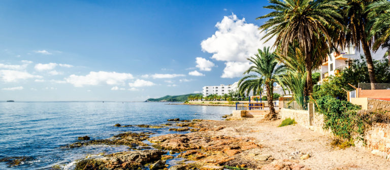 Ibiza coast